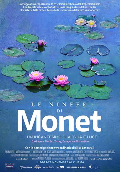 LE NINFEE DI MONET al Cinema Astra Parma