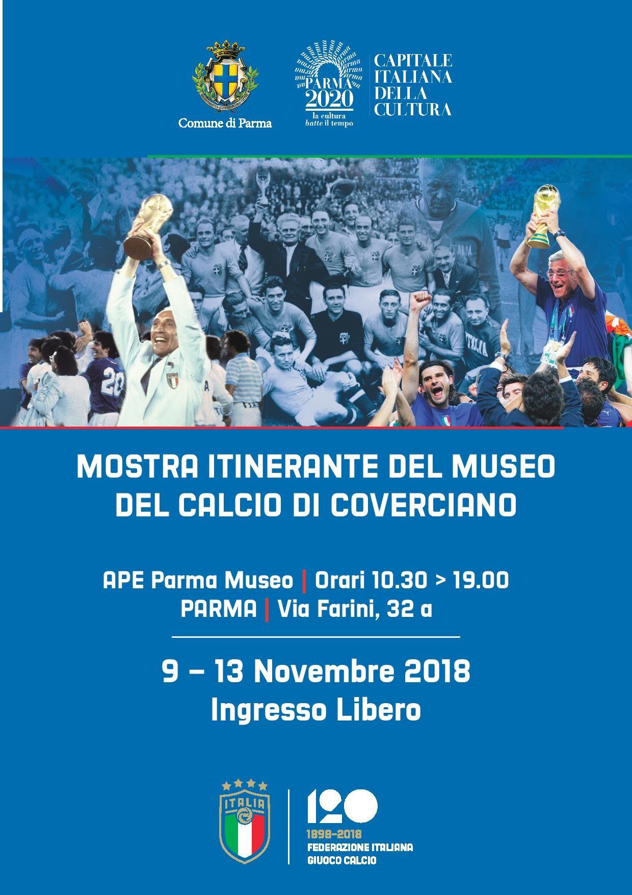 Mostra Itinerante del Museo del Calcio di Coverciano.