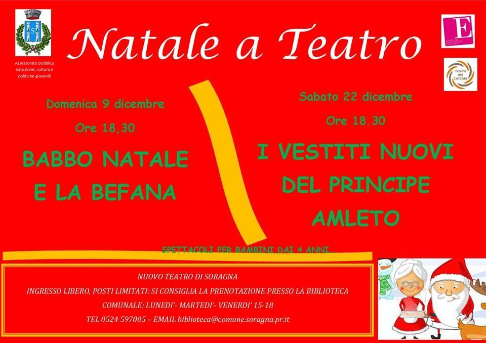 Natale a teatro a Soragna