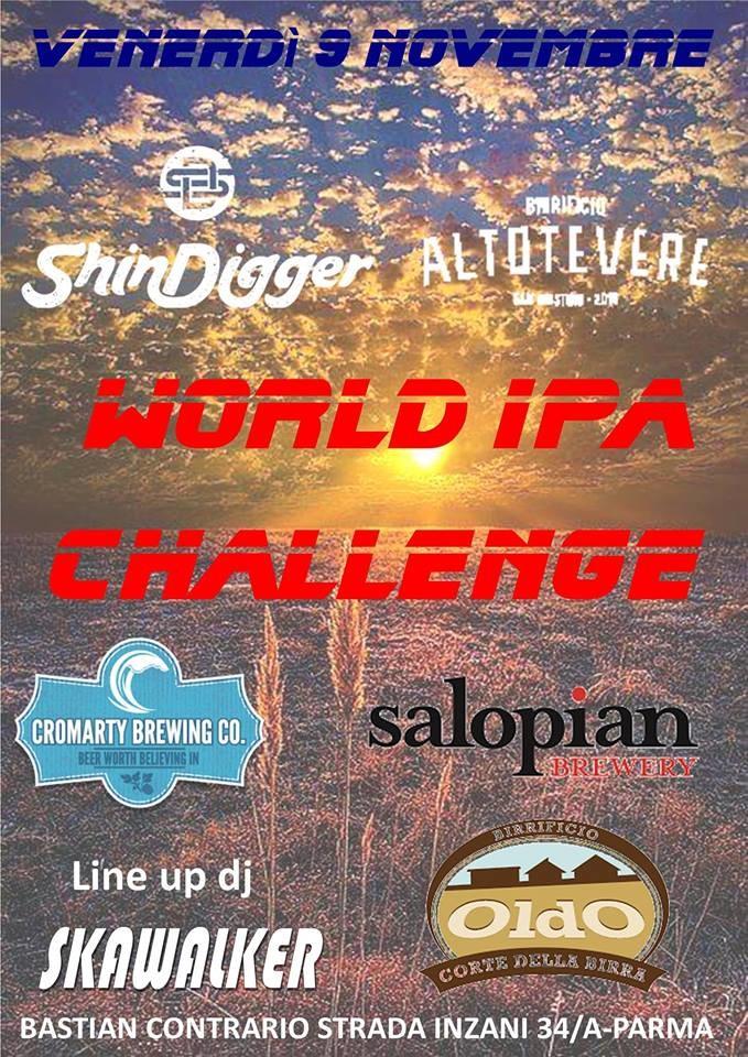 World ipa challenge al Bastian Contrario pub