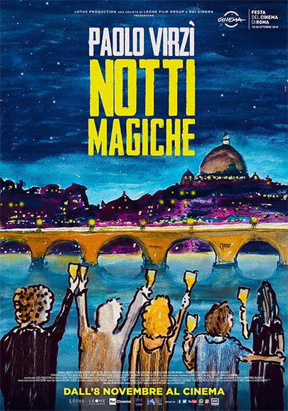 NOTTI MAGICHE  di Paolo Virzì al Cinema D'Azeglio