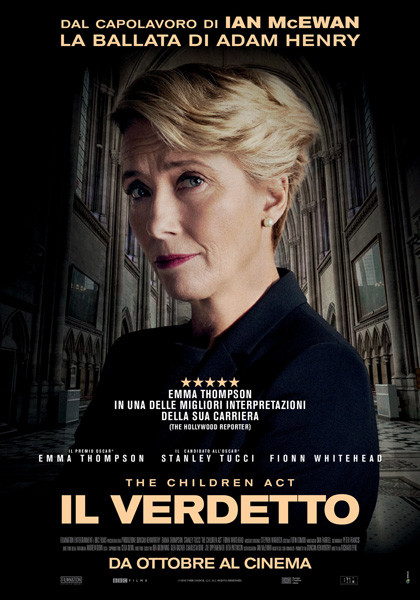 The Original Onesi al CINEMA D'AZEGLIO-PARMA: The Children Act di Richard Eyre