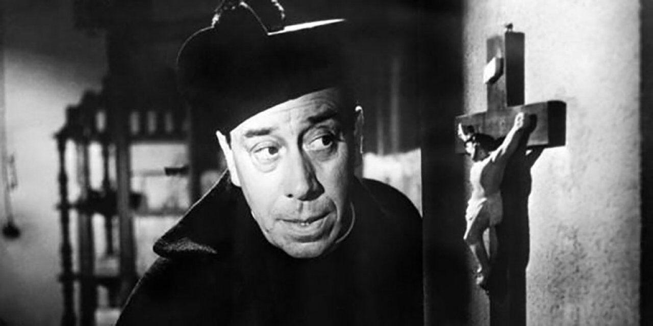 Proiezione del film Don Camillo al Teatro Verdi di Busseto
