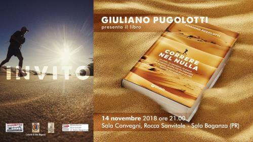 """Giuliano Pugolotti presenta il suo libro """"Correre nel nulla"""" nella Rocca di Sala Baganza"""