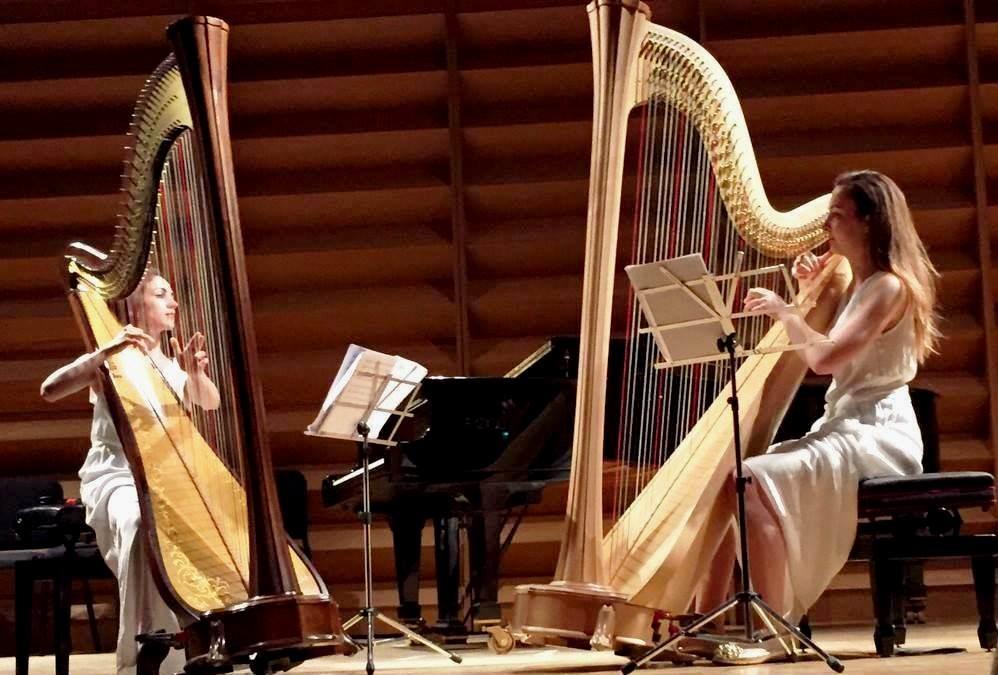 Il Suono Svelato  Musica e tradizioni  Una guida all'ascolto a cura del Salzedo Duo Harp (Giorgia Panasci e Licia Gueli, arpe