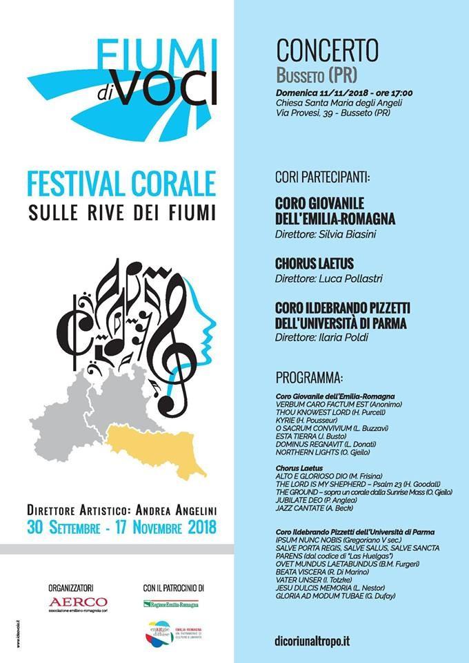 Fiumi di voci, festival corale