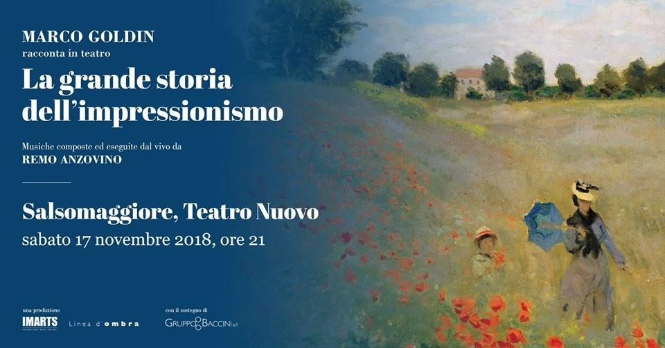 """""""La grande storia dell'Impressionismo"""" al Teatro Nuovo di Salsomaggiore"""