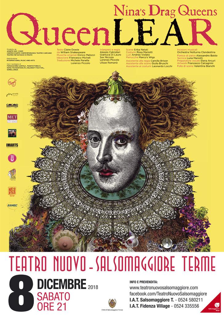 Nina's Drag Queens  Queen Lear al Teatro Nuovo di Salsomaggiore