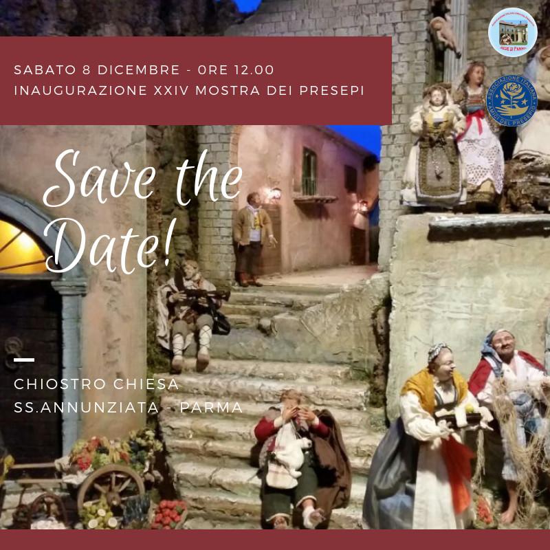 XXIV edizione della Mostra dei Presepi nel Chiostro della SS.Annunziata di Parma