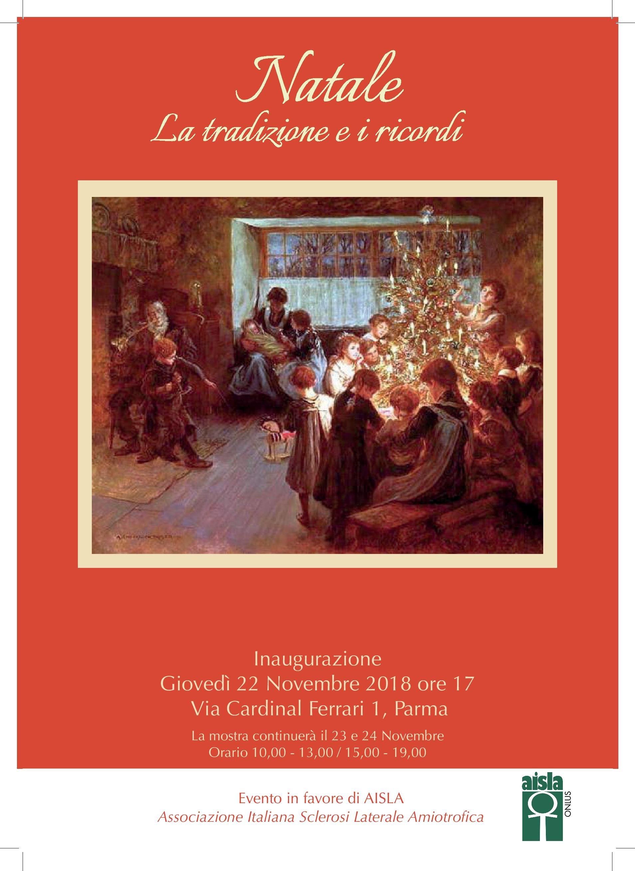 Natale, la tradizione e i ricordi, evento benefico a favore di SLA