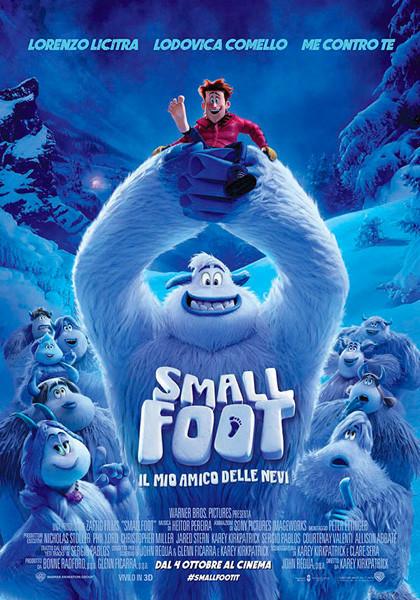 Al cinema Cristallo di Borgotaro  SMALLFOOT il mio amico delle nevi