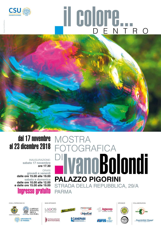 """""""Il colore… dentro"""" ,  mostra fotografica di Ivano Bolondi"""