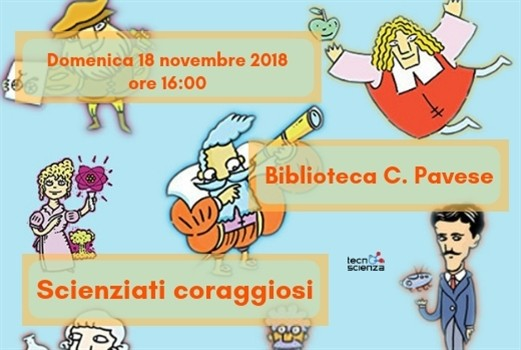 Scienziati coraggiosi: scienza e bambini in biblioteca Pavese