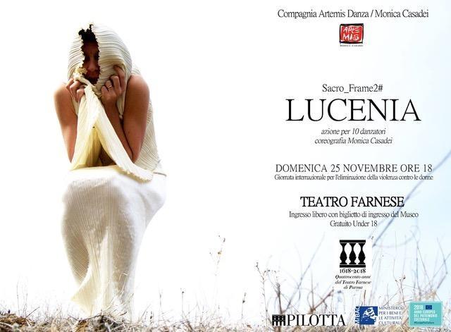 400 anni del Teatro Farnese – LUCENIA di Artemis Danza / Monica Casadei al Teatro Farnese