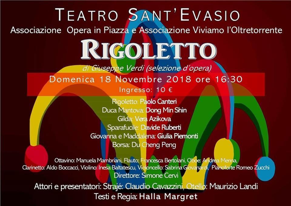 Rigoletto al Teatro S. Evasio