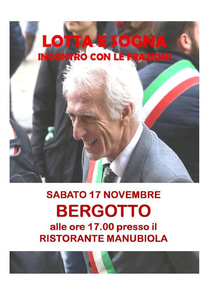 Il Sindaco Luigi Lucchi incontra le frazioni a Bergotto