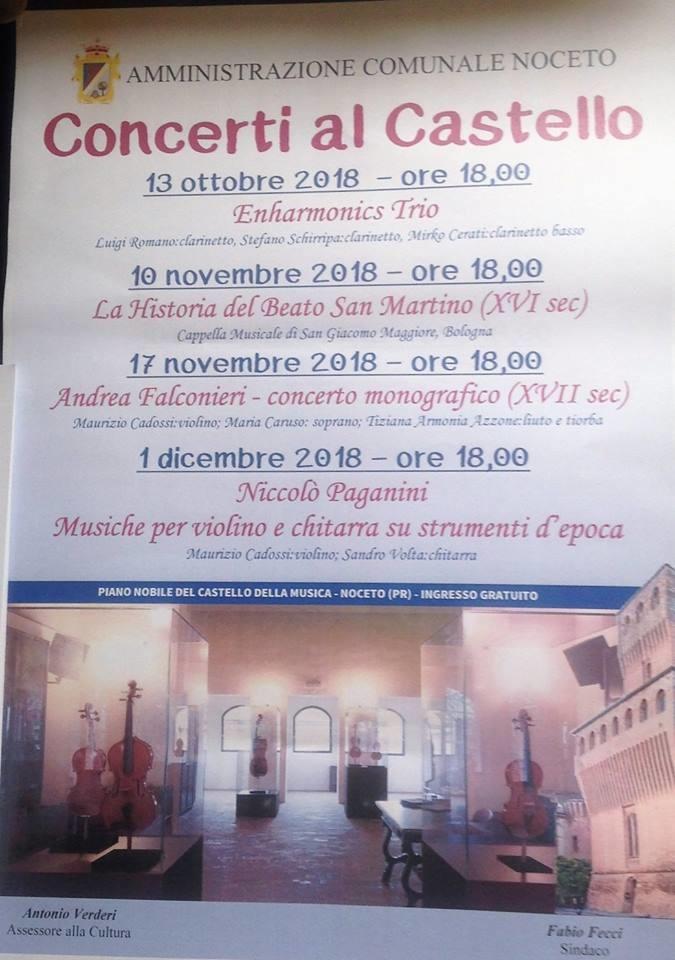 Concerti al Castello della Musica