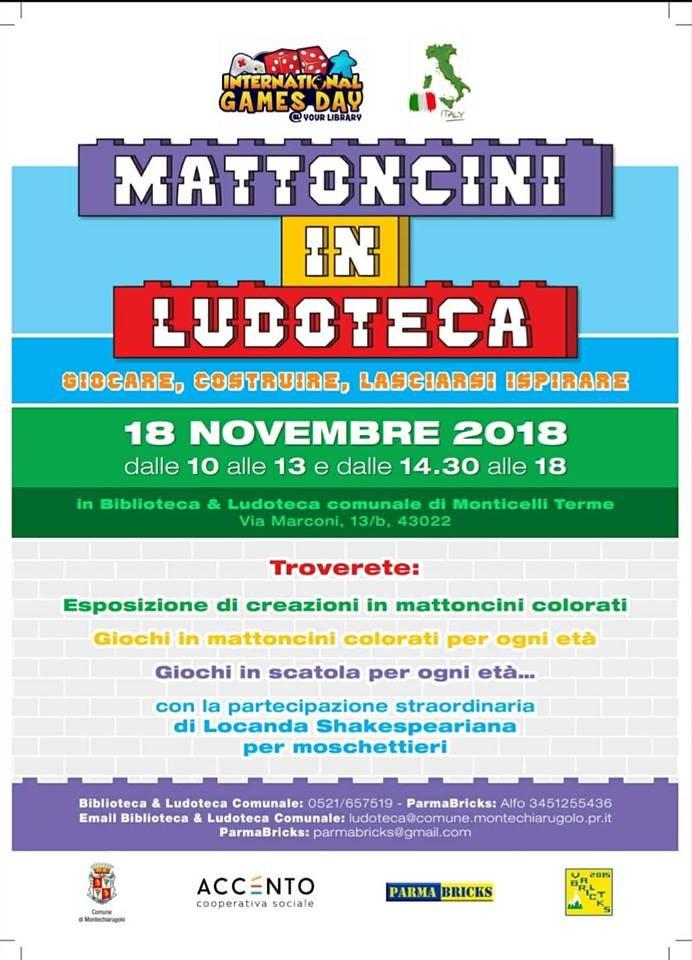 MATTONCINI IN LUDOTECA!!