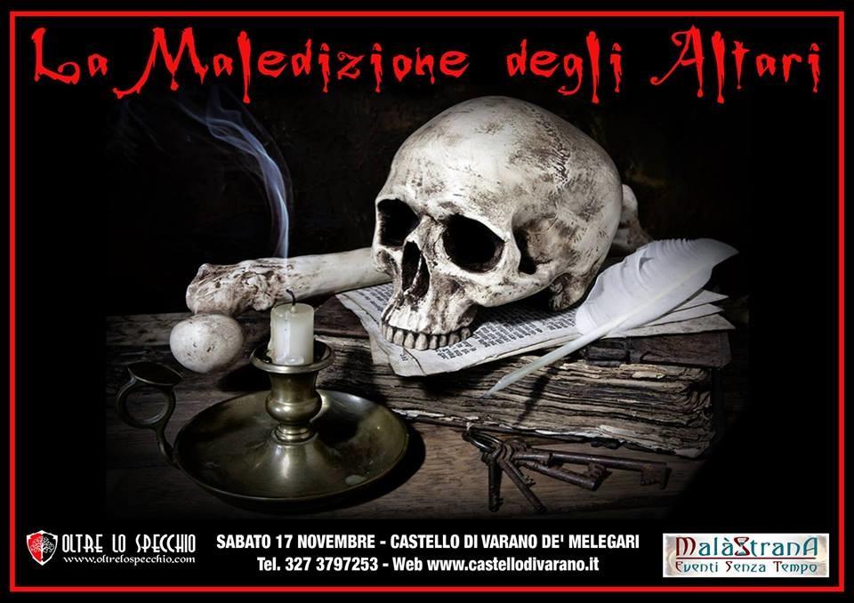 La Maledizione degli Altari - Evento Horror al castello di Varano