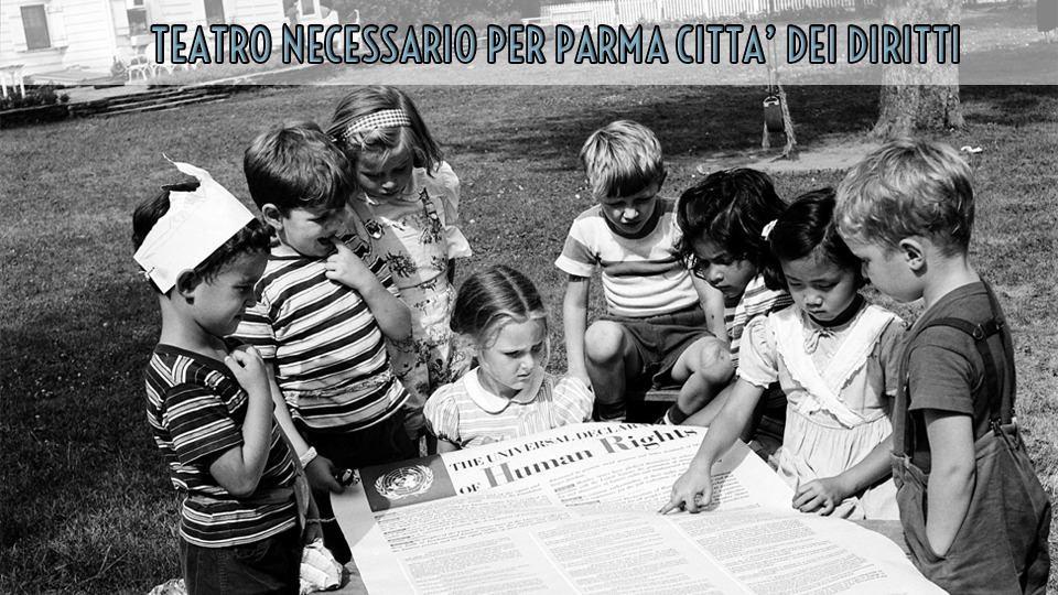 Teatro Necessario per Parma Città dei Diritti