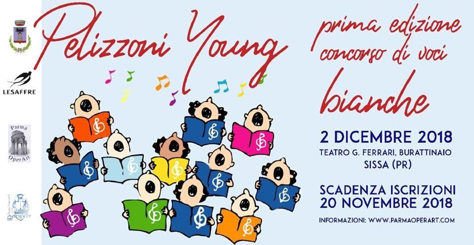 Pelizzoni young, primo concorso di voci bianche