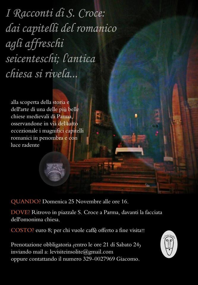 Alla scoperta della chiesa di S. Croce a Parma