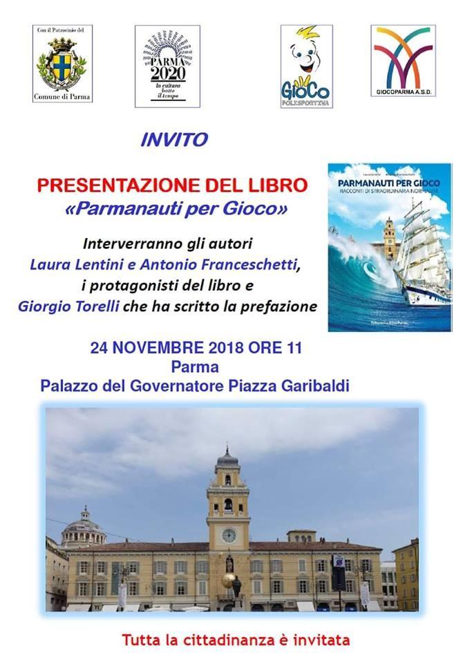 """Presentazione del libro """"Parmanauti per Gioco"""""""