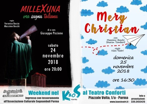 Week-end con Kàos al Teatro Conforti