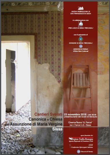 """A Sissa """"Cantieri Svelati"""":Canonica e Chiesa dell'Assunzione di Maria Vergine"""