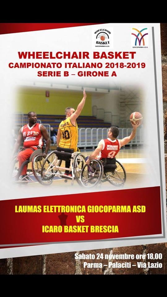 Laumas Parma Vs Icaro Brescia (serie B , Girone A)