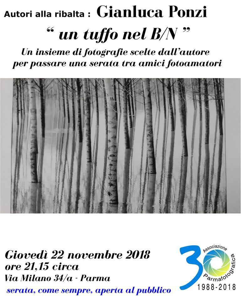 I giovedì di Parma Fotografica: Gianluca Ponzi