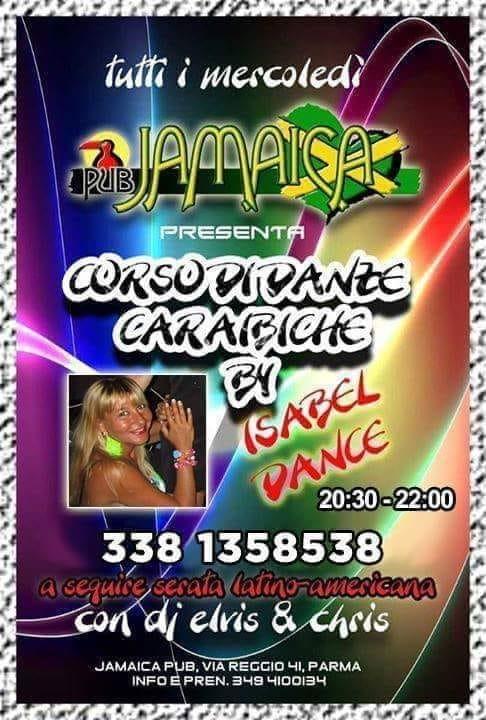 Al JAMAICA PUB  corso di danze caraibiche