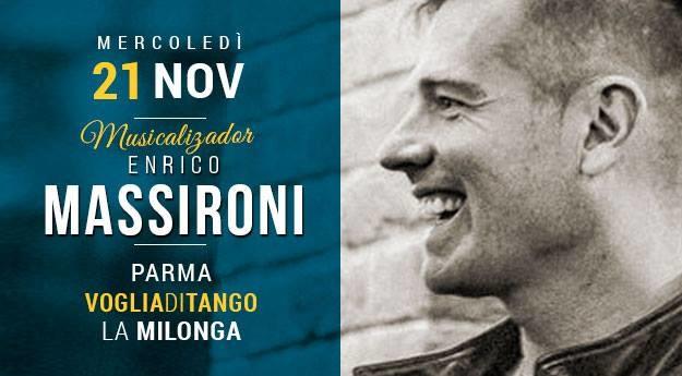 Milonga di Voglia di Tango Tdj Enrico Massironi