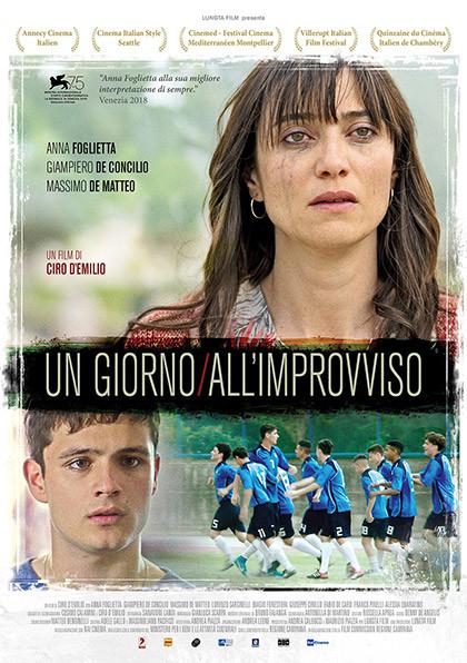 Anteprima:  UN GIORNO ALL'IMPROVVISO al Cinema Astra Parma Proiezione alla presenza di...
