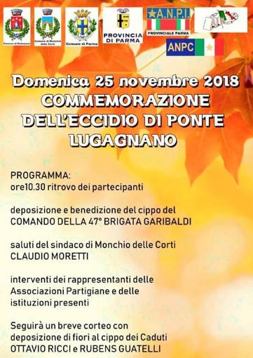 Commemorazione dell'eccidio di Ponte Lugagnano