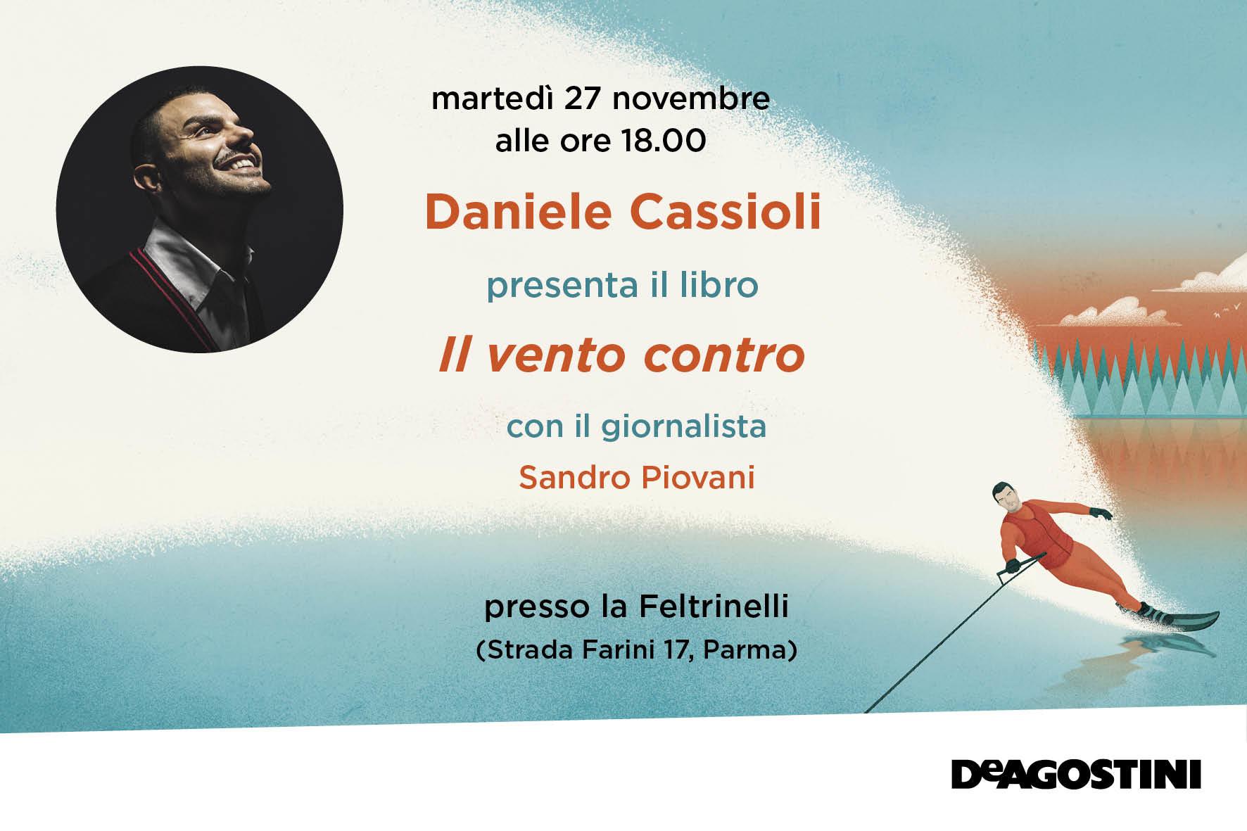 """Presentazione del libro di Daniele Cassioli """"Il vento contro"""""""