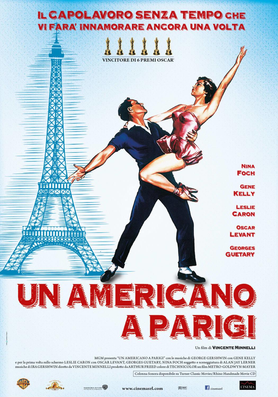 Proiezione del film UN AMERICANO A PARIGI.