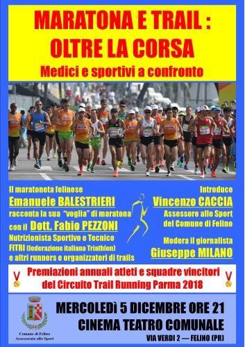 Maratona e trail: oltre la corsa. Medici e sportivi a confronto