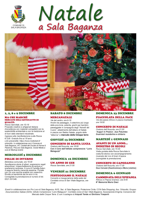 Natale a Sala Baganza