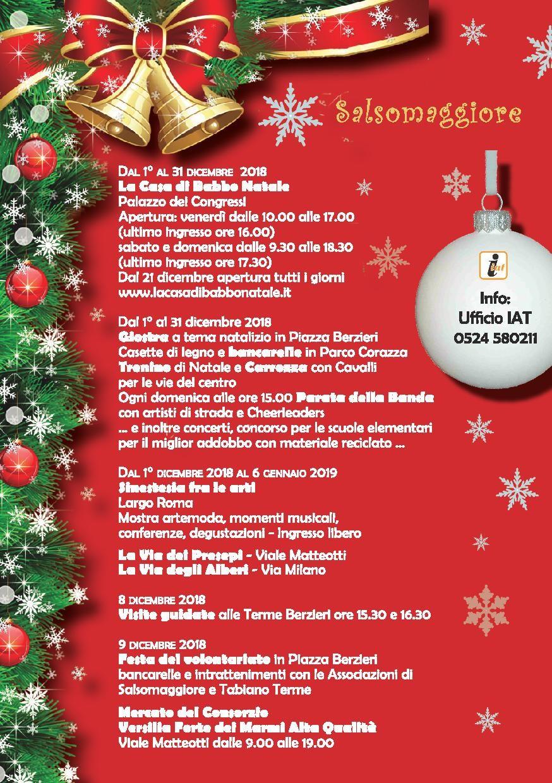 Natale e Capodanno a Salsomaggiore Terme