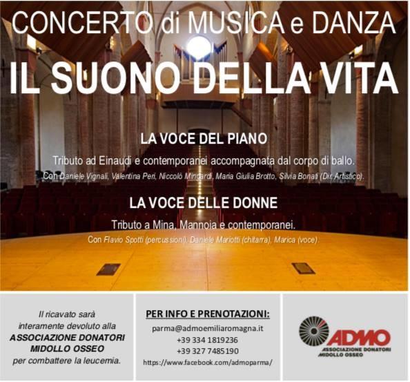 Il suono della Vita, concerto di musica e danza