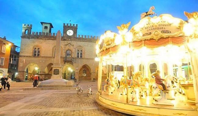 GIOSTRA DEI CAVALLI in Piazza Garibaldi a Fidenza