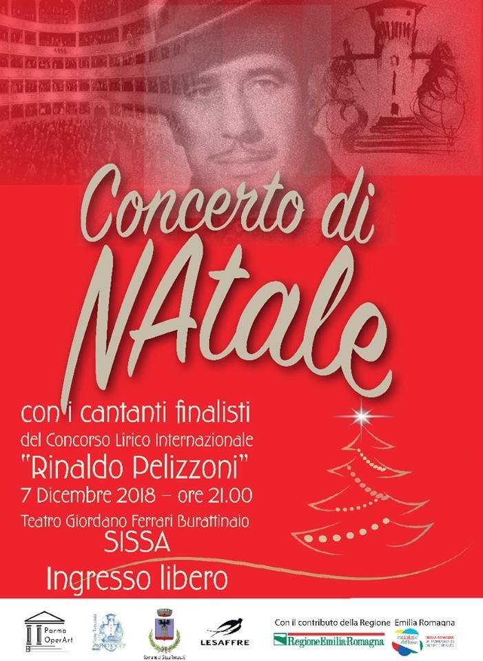 """Concerto di Natale con i cantanti finalisti del Concorso Lirico Internazionale """"Rinaldo Pelizzoni"""""""