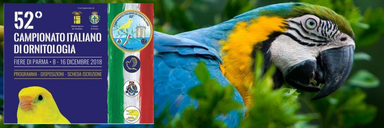 52° Campionato Nazionale di Ornitologia