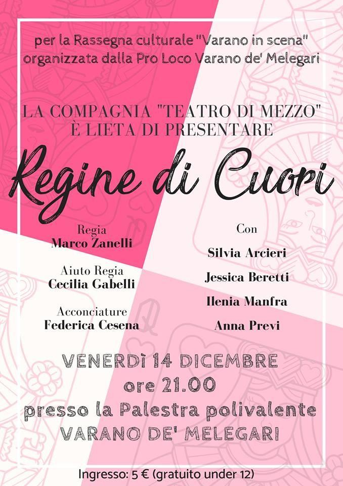 """A Varano in scena """"REGINE Di CUORI"""""""