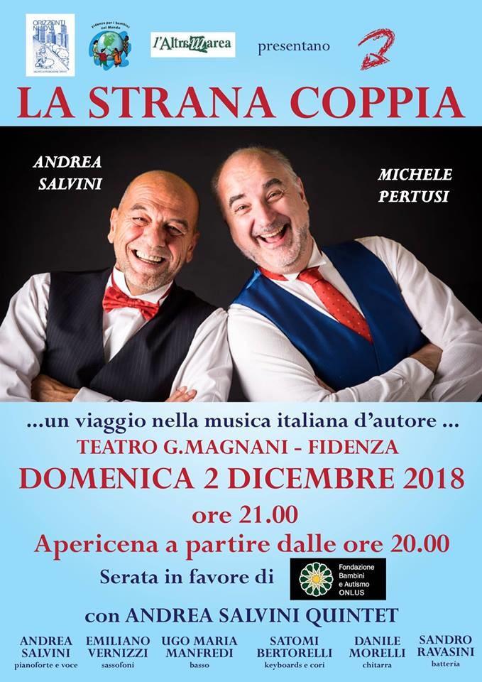 """La """"Strana Coppia"""" Andrea Salvini e Michele Pertusi  al Teatro Magnani di Fidenza"""