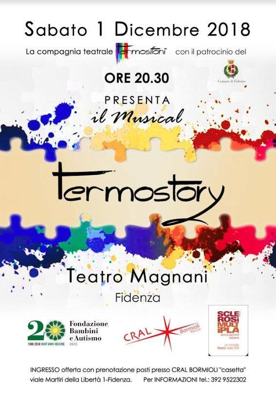 """Il musical """"Termostory"""" in scena al Teatro Magnani"""