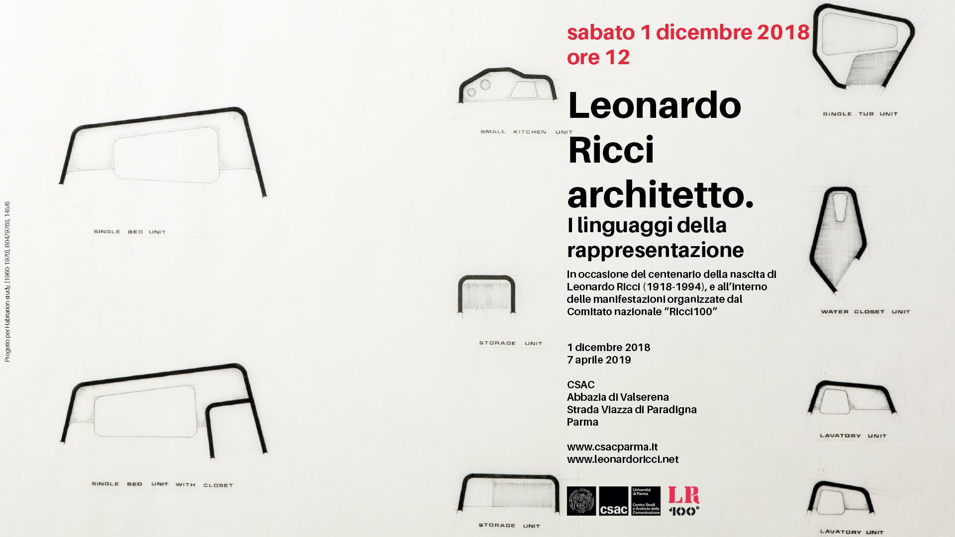 Leonardo Ricci architetto. I linguaggi della rappresentazione in mostra allo CSAC