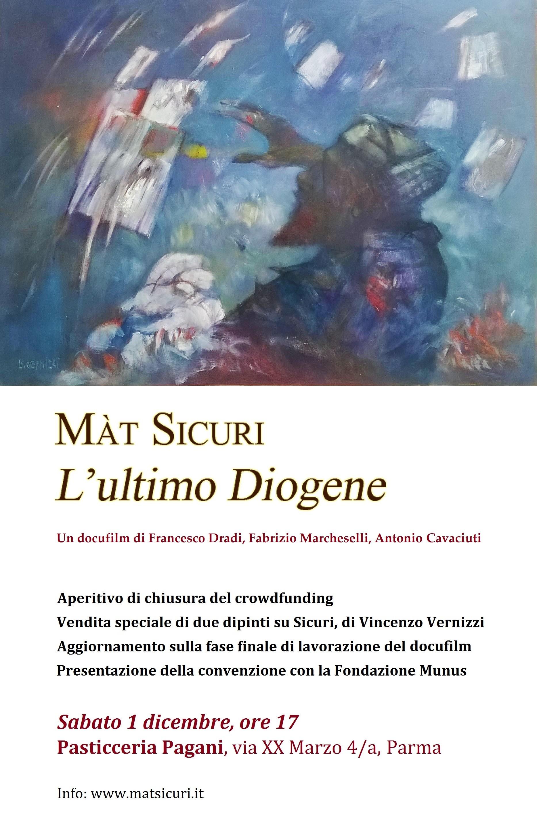 """Vendita """"pro film""""di due dipinti su Sicuri, a firma del noto pittore e architetto Vincenzo Vernizzi"""
