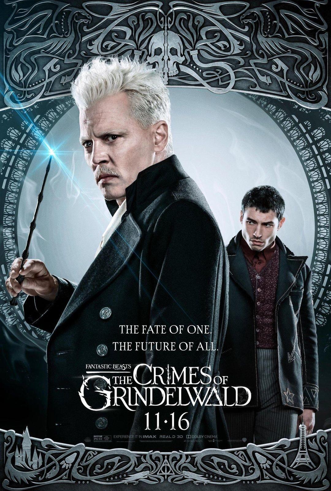 Animali Fantastici i crimini di Grindelwald al cinema Cristallo di Borgotaro